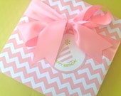 Pink Chevron Premium Wrapping Paper