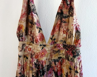 Vintage Floral Breezy Cotton Sundress