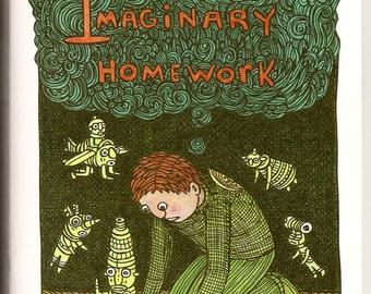 Imaginary Homework (art zine)
