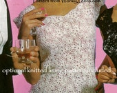Crochet Shell Top Vintage Crochet Pattern PDF 481 from WonkyZebra