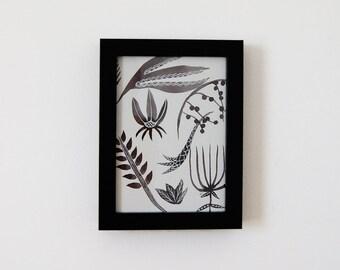 Botanical Study II - Framed Original Painting
