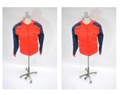 vintage jacket ADIDAS ATP warm up training small trainers red and blue run dmc hip hop