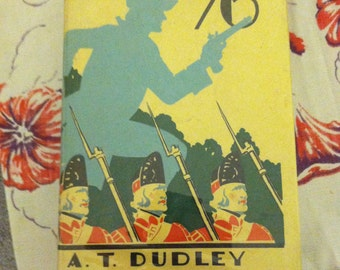 The Spy of '76 adventure hb book story, spy adventure, colonial man, revoluntion,  hardback book, vintage book, adventure A.T. Dudley 1933