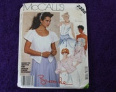 Vintage McCall's Pattern 2388 Size 12