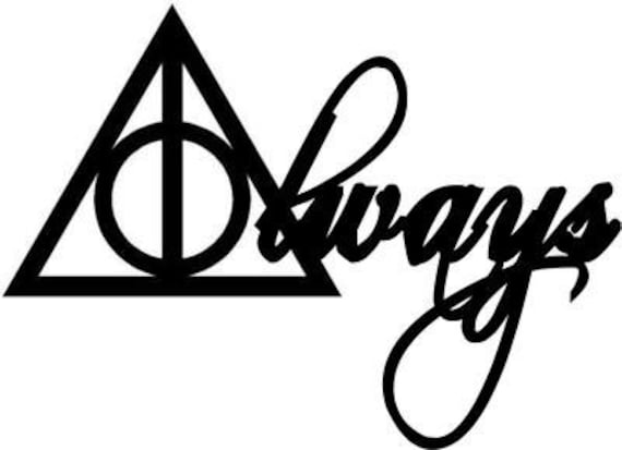 deathly hallows symbol always - photo #12