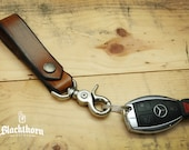 Blackthorn Leather Key Fob / Key Chain / Key Belt Lanyard