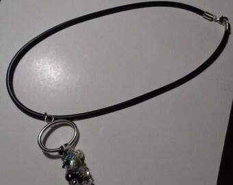 Go Big, or Go Home Key Pendant Necklace!