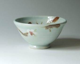 Pottery bowl, porcelain