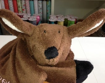 Deer Cuddle Buddy Personalized