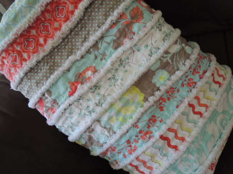 Jelly Roll Rag Quilt Pattern Tutorial Easy To Make By Beffie48