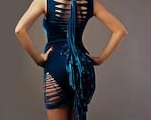 Holiday SALE -Cutout Velvet Dress