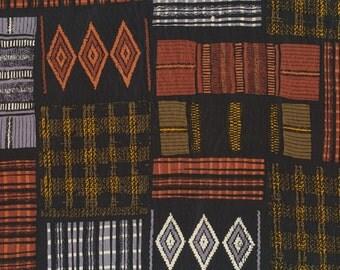 Tribal design Ann Taylor silk scarf long