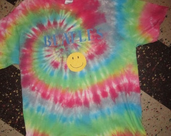 Beatles Tie dyes, Size Large, 4 different Styles