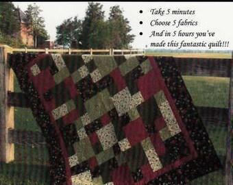 Take 5 Quilt Pattern 5 sizes