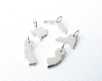 ADD ON State Charm - add another charm to your state necklace or bracelet -
