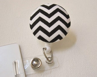 Swivel Clip Badge Reel in Hypnosis