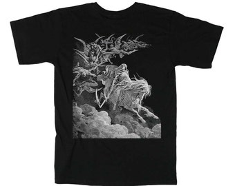 Vision of Death by Gustav Dore T-Shirt