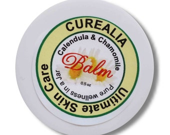 Tattoo Aftercare, Curealia Pure Natural Skin Care, Calendula, Chamomile - 0.5 oz