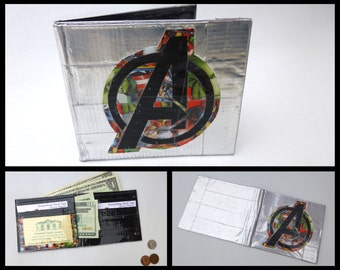 Duct Tape Wallet (MARVEL Avengers themed)