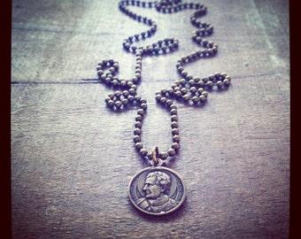 ST JOHN BOSCO necklace
