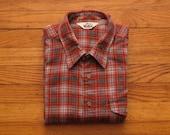 mens vintage Woolrich flannel work shirt