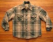 mens vintage CPO shirt