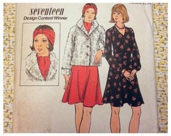 Skirt Jacket Pattern * Butterick 3835 * Turban & Scarf