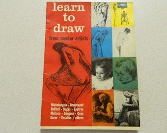 Learn to Draw from Master Artists - Fawcett Book 452