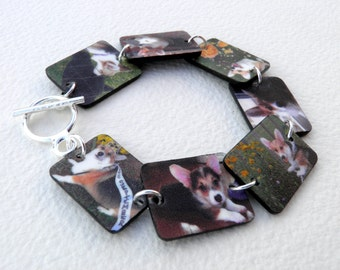 Waterproof Custom Photo Bracelet (Color)--FREE Gift Wrapping