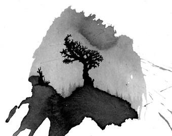 Southward - Original Ink Drawing