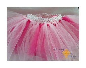 Pink toned infant tutu