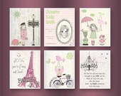 Paris Nursery Art Baby Gi...