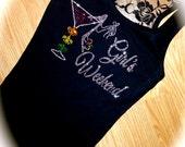 1 Bridesmaid Half Lace tank top. New Orleans Bachelorette Party. Girls Weekend Shirt. Fluer Di Lis. Bachelorette shirt. Maid of honor.