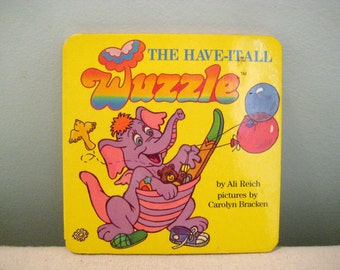 Vintage The Have It All Wuzzle Book