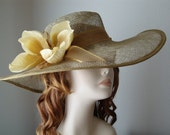 Sinamay Hat by Babette's Hatworks