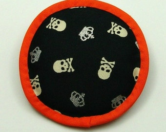 Halloween Catnip Toy, Halloween Cat Toys, Catnip Skull, Skull Toy, Skull and Crossbones, Skull Pillow, Your Highness, A ROYAL WARNING