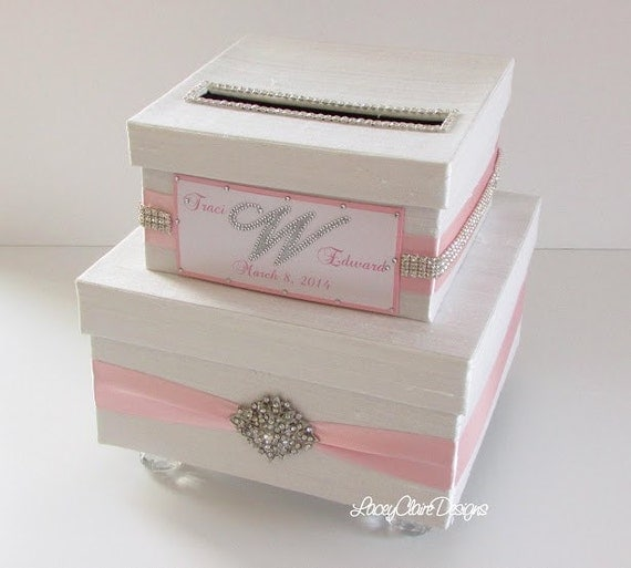 Wedding Money Box: Wedding Money Box Card Holder Card Box SMALLER VERSION