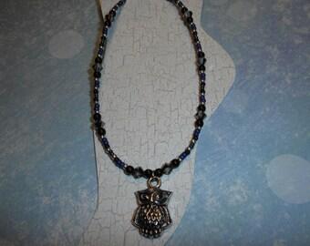 Pretty Owl Ankle Bracelet