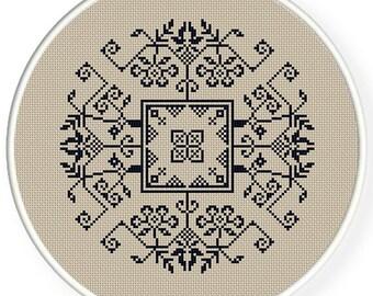 Instant Download,Free shipping,Cross stitch pattern, Cross-Stitch PDF, vintage chinese folk,chinese wedding  pattern design ,zxxc0421