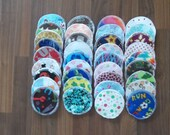 Nursing pads 36 sets (72 total) made with 4 layers of 100% cotton flannel