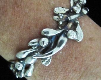 Seaweed Cuff Bracelet