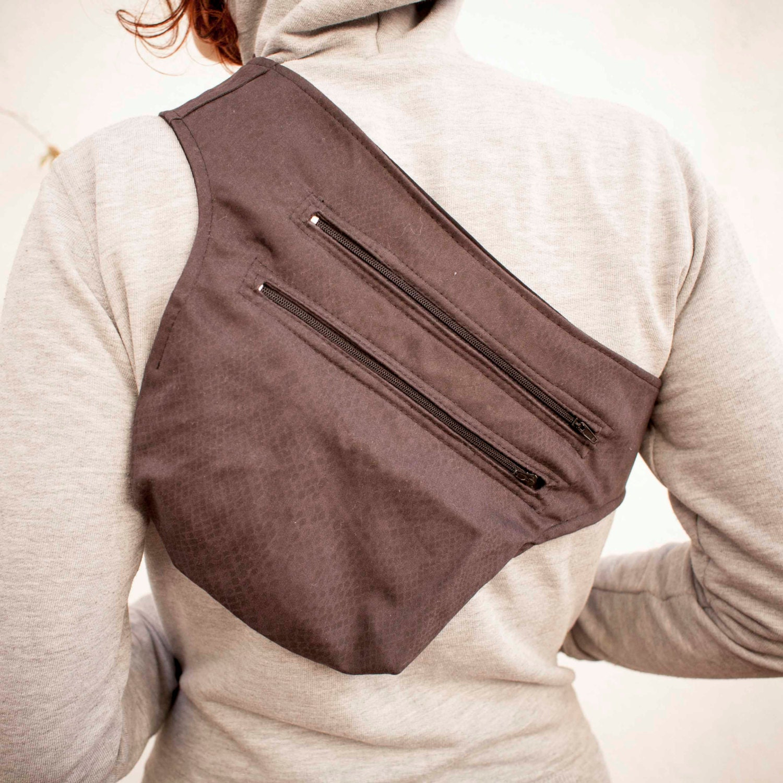 Python Print Fanny Pack/Messenger Bag steampunk buy now online