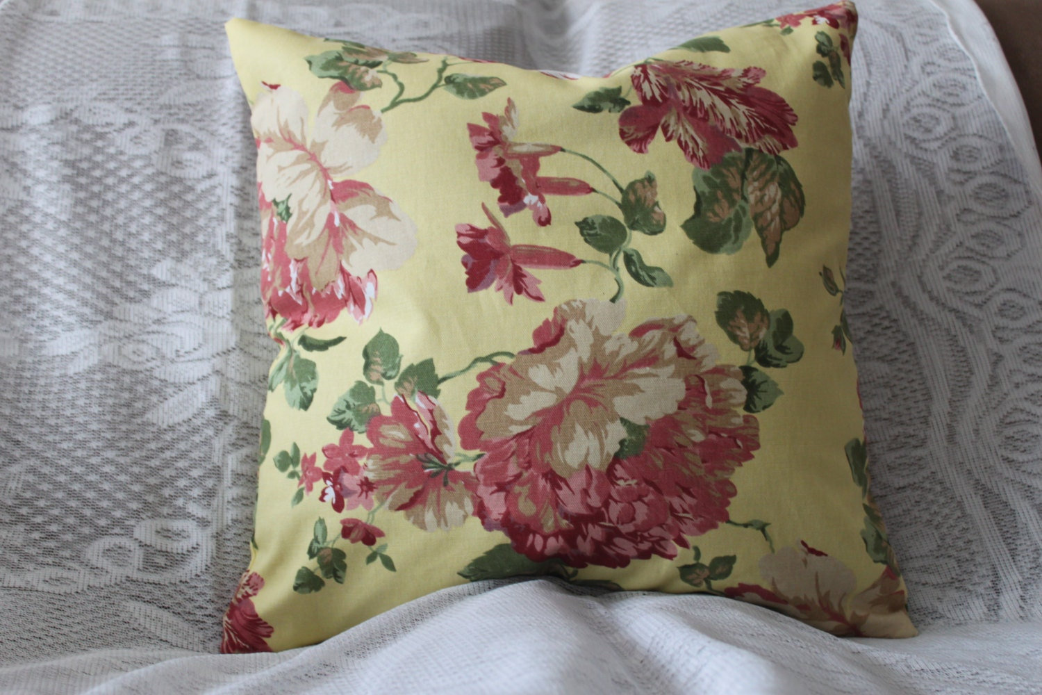 Decorative Pillow Covers With Zippers : Decorative Pillow Cover Zipper Closure Throw by SewHomeDecor