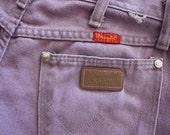 Vintage Lavender Wrangler Women's Jeans