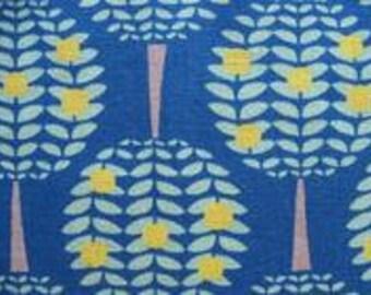 One Yard-KOKKA -Ellen Luckett Baker - Folk Modern- Trees in Blue