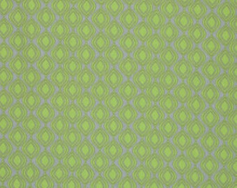 SALE-One Yard from Valori Well's Cocoon Linen Collection for Free Spirit- Shine in Peridot