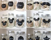150 SMALL Chalkboard Labels any design