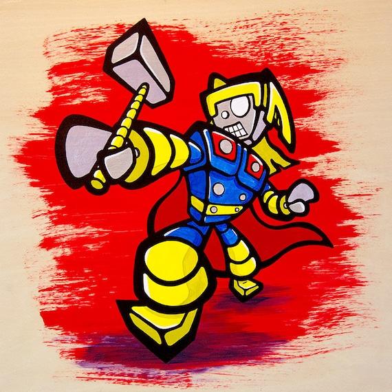 Thor Bot Giclee Print