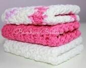 Baby Wash Cloths - Set of 3