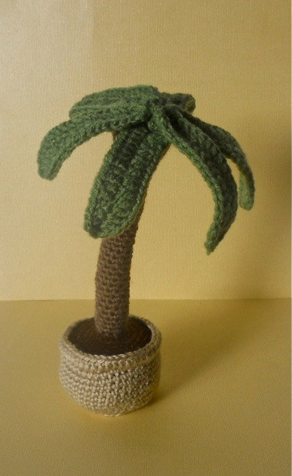 Amigurumi Neko Atsume Pattern : Crochet palm tree Miss Dolkapots Krafties